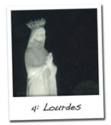 Pilgrim, where is your happiness? Lourdes