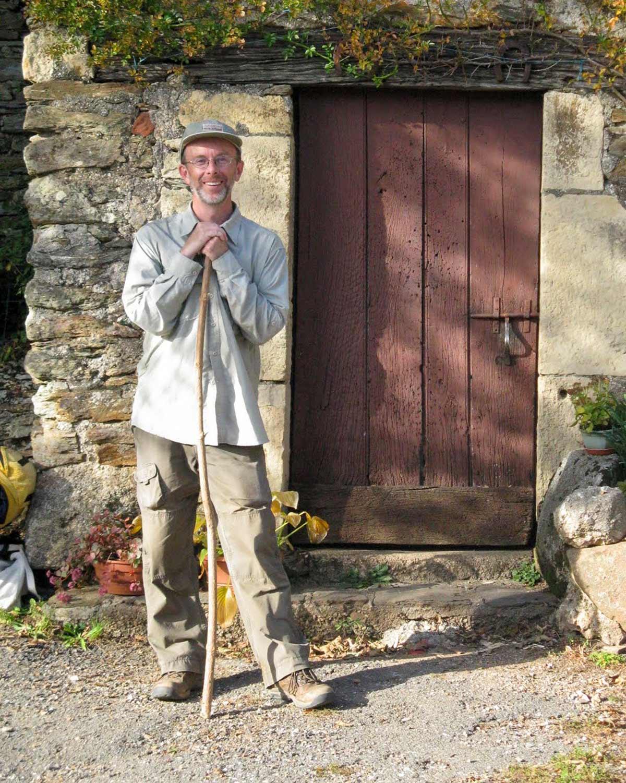 Author Robert Ward on the Camino de Santiago