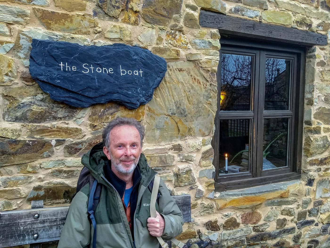 Robert Ward at the Stone Boat