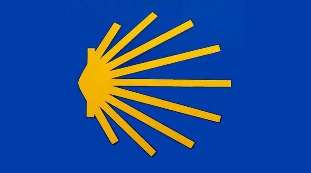 Shell Concha symbol of Camino de Santiago