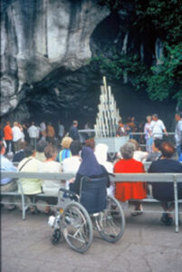 The baths at Lourdes
